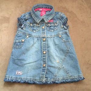 Baby Girls Ecko Red Jeans dress